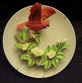 Seymour Mann  3-D cardinal plate  artist  Mario Bernini