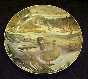 The Mallard by Bert Jerner  Duck collector plate
