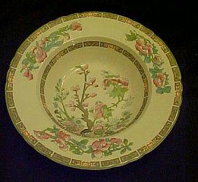 "Myott Staffordshire  Indian tree rimmed soup bowl 8"""