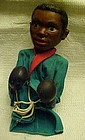 Cassius Clay Muhammed Ali  action boxing puppet 1960's