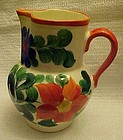 Vintage Hand Painted Erphila Czechoslovakia pitcher