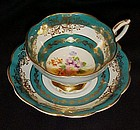 Royal Standard fancy footed tea cup n saucer set  #1579