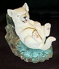 Cool Slide Arctic Antics  wolf pup figurine  Hamilton