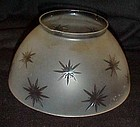 Frosted clear cut stars replacement lamp light shade