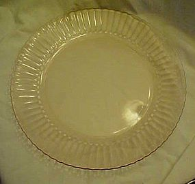 Forte Crisa Mexico pink glass dinner plate 10""