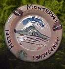 Vintage Clay Hotel Monterrey  Panajachel ashtray