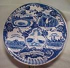 Jonroth England Yellowstone Park souvenir plate