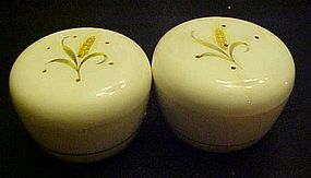Goldcrest wheat salt and pepper shakers by Alliance