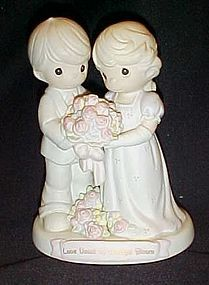 Precious Moments Love vows to always bloom figurine