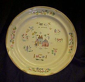 International Heartland pattern dinner plate