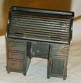 Collectible Durham metal pencil sharpener roll top desk