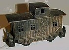 Collectible metal LS & S train caboose pncil sharpener