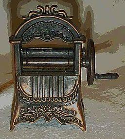 Collectible die cast  wringer washer pencil sharpener