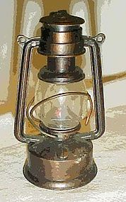 Collectible die cast metal lantern pencil sharpener