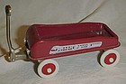 Radio Flyer Streak o lite miniature red wagon