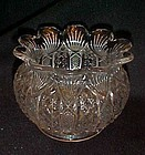 EAPG Panama/ fine cut bar  Viking bowl  US Glass 1904