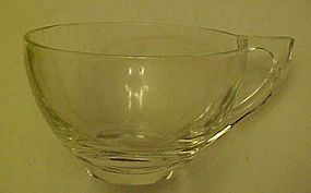 Vintage Hazel Atlas clear snack set cup