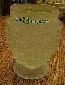 Walt Disney World frosted tiki Mug Polynesian Village