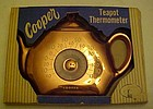Vintage Cooper copper teapot thermometer MIB  No 130
