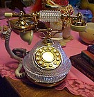 Like new crystal french style telephone