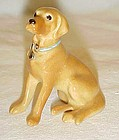 Hagen Renaker miniature golden lab figurine