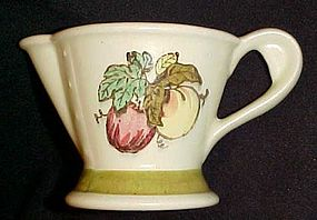 Poppytrail by Metlox Golden Fruit creamer