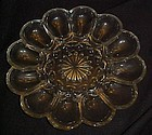 Vintage Anchor Hocking Fairfield deviled egg plate