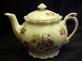Pretty Czechoslovakia demitasse teapot pretty florals