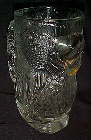 Tropicana Las Vegas Heavy glass Parrot mug  beer stein