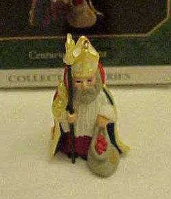 Hallmark Centuries of Santa mini ornament #4 mint/boxed