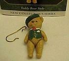 Hallmark Keepsake mini ornament  #1Teddy Bear Style
