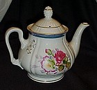 Vintage floral decorated china teapot