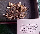 Danbury Mint French Horn  annual ornament 1997