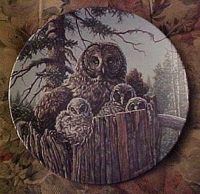 Knowles Forest's Edge Great Gray Owls 2nd issue