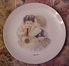 Collectible Coats & Clark plate #3 Victorian children