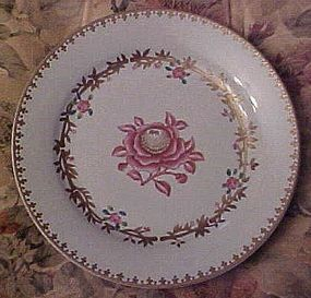 Avon Abigail Adams plate Peabody Museum 22K