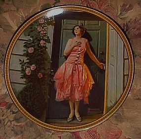 Knowles Norman Rockwell Standing in the doorway