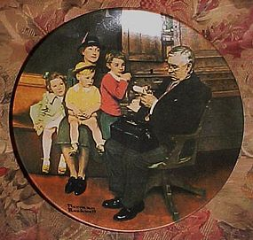 Norman Rockwell The Family Doctor Heritage Collection
