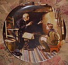 Norman Rockwell The Vereran Heritage series plate