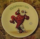 Norman Rockwell Jolly Old St. Nick Christmas1989