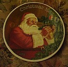 Norman Rockwell 1987 plate Santa's Golden Gift