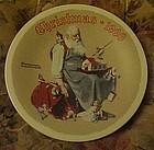 Norman Rockwell 1998 plate santa's Helpers 1998