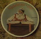 Norman Rockwell 1997 plate For Good Boys and Girls