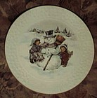 Avon 1986 Christmas plate A Child's Christmas