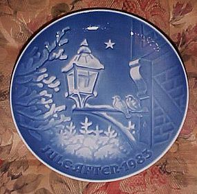Bing Grondhal Christmas in the old town 1983 plate