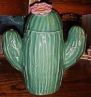 Treasure Craft Saguaro cactus Southwestern cookie jar
