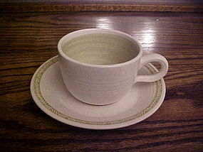 Franciscan Hacienda Matching cup and saucer