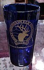Rocky Mountain Elk Foundation cobalt blue tumbler