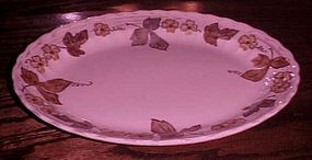 "Metlox Vernonware Autumn leaves 13 7/8"" oval platter"