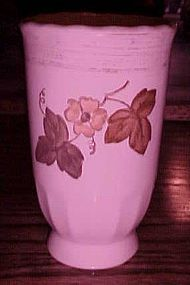Metlox Vernonware Autumn Leaves 8 oz tumbler